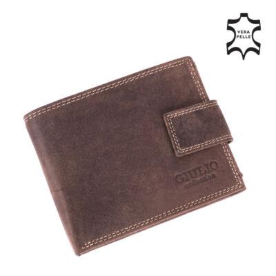 GIULIO valódi bőr férfi pénztárca