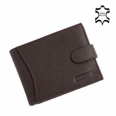 GIULIO valódi bőr férfi pénztárca ( 8 kártyatartó )