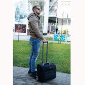 Swisswin Gurulós laptoptáska pilótatáska V1-B225-4 Fedélzeti méret