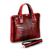 Valódi bőr női üzleti táska**