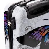 90d7d16f552d Pillangós ABS bőrönd kabin méret - Wizzair méretű bőröndök 55 x 40 x ...