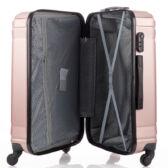 LEONARDO DA VINCI 507 Bőrönd nagy méret Világoskék színben