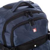 Swisswin gurulós utazótáska kék színben nagy méret HL6688 AKCIÓS