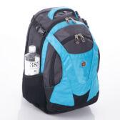 Swisswin hátizsák kék színben AIR FLOW szellőző hátrésszel