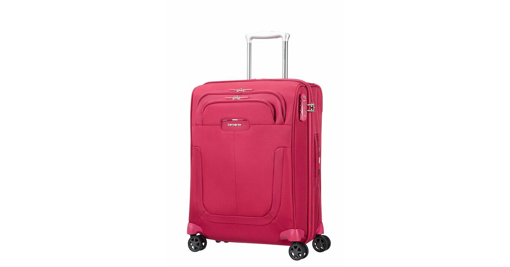 9df203bca9d5 Samsonite Duosphere Spinner bővíthető bőrönd 55 cm - Wizzair méretű  bőröndök 55 x 40 x 23 cm elsőbbségi beszálással felvihető - Etáska -  minőségi táska ...
