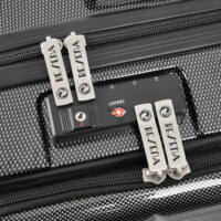 Resena Kabin méretű bőrönd laptoptartóval TSA zárral