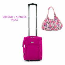 Kis méretű kabinbőrönd +  ajándék táska AKCIÓ