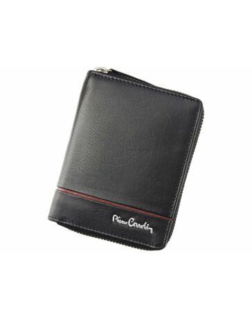 Pierre Cardin Fekete + Piros Valódi bőr Pénztárca RFID védelemmel c200ea25ef