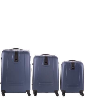 01c66907fbfd Leonardo Da Vinci 3 db-os bőrönd szett
