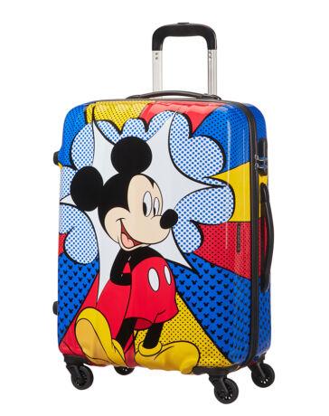 American Tourister Disney Legends Mickey Flash Pop Spinner bőrönd 65 cm c6b6d49c38