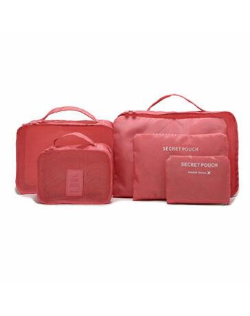 """Bőröndrendező táskák utazáshoz 6 db-os szett"""""""