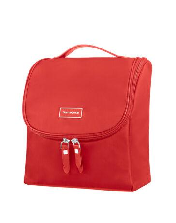 Samsonite Karissa unisex felakasztható kozmetikai táska piros színben