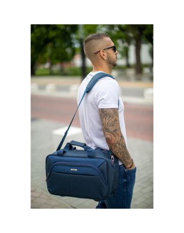 Bontour Fedélzeti táska 40 x 25 x 20 cm Ryanair méret kék színben