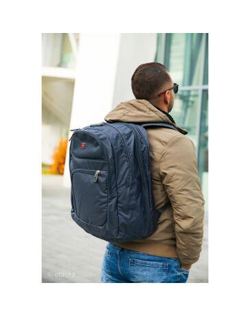 Nagyméretű Swisswin hátizsák sw8301 szürke