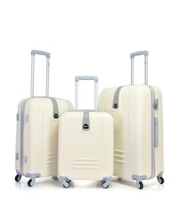 Bontour CLASSIC Bőrönd Szett Krém 120740 Cream