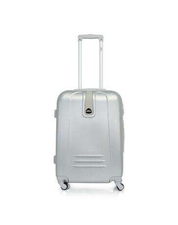 Bontour CLASSIC Bőrönd Közép Méret Ezüst 120742 Silver