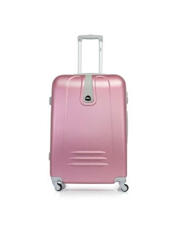 Bontour CLASSIC Bőrönd Nagy Méret Pink 120743 Pink