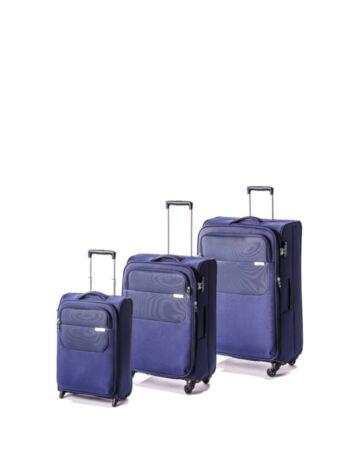 Yearz Carter Spec E. Bőrönd Szett + ajándék 3 db-os bőröndhuzat szett