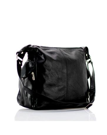 14a54cf8c49d Valódi bőr női táska. Világosbarna. Fekete