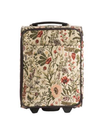 Virágos bőrönd kabin méret ÚJ WIZZAIR RYANAIR méret
