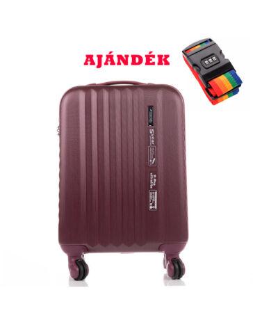 Yearz Ribbon kabin bőrönd RYANAIR ÚJ WIZZAIR méret TSA Zárral