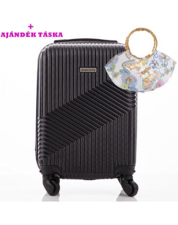 Leonardo Da Vinci Bőrönd ÚJ WIZZAIR méret levehető kerekekkel + ajándék  táska AKCIÓ a45bea57c9