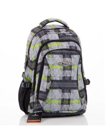 Aoking hátizsák zöld mintával