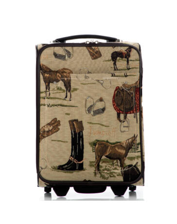 Lovas bőrönd ÚJ WIZZAIR RYANAIR méret