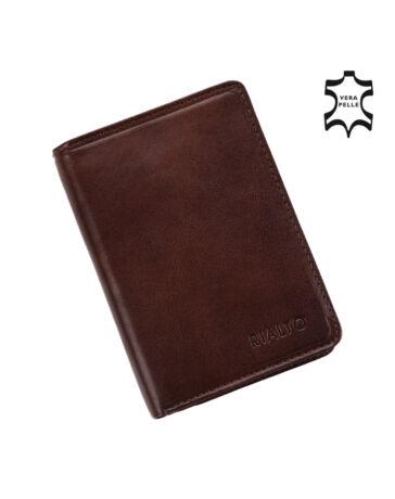 Rialto valódi bőr pénztárca ** R-90BR1535-08