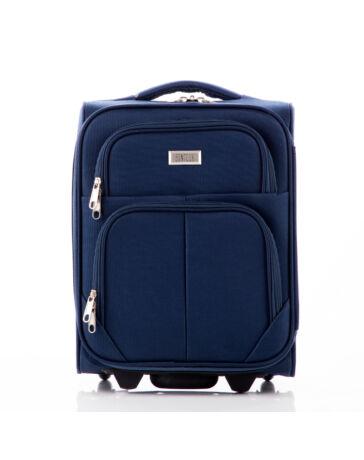 Kis méretű kabinbőrönd kék színben
