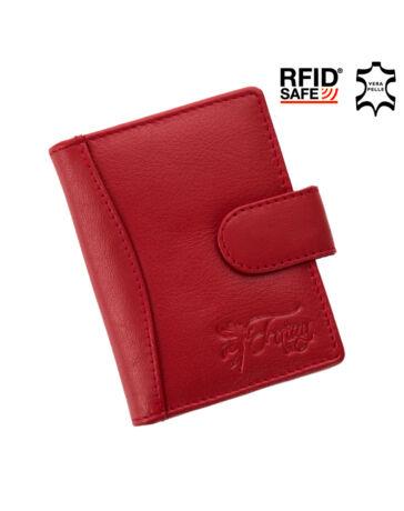 FAIRY valódi bőr kártyatartó RFID rendszerrel*