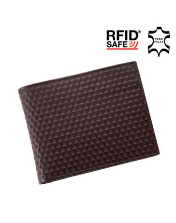 GIULIO valódi bőr férfi pénztárca díszdobozban RFID rendszerrel +. Fekete.  Barna 69dda07e44