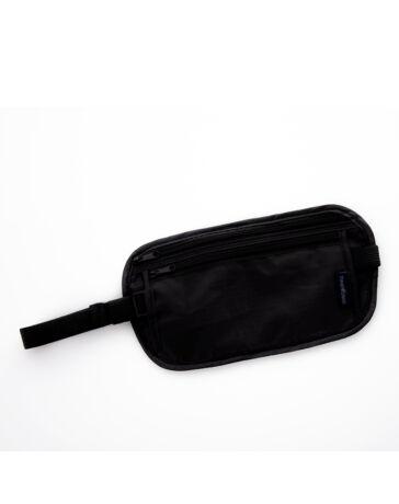 TravelPlus rejtett övtáska fekete színben*