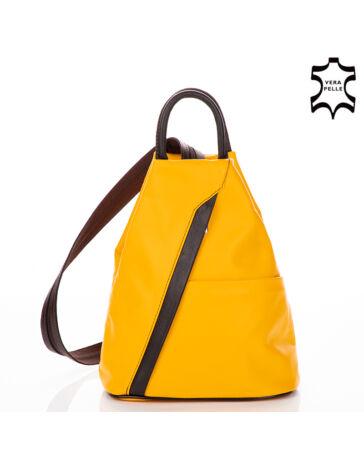 Valódi bőr női hátizsák RYANAIR méretű táska
