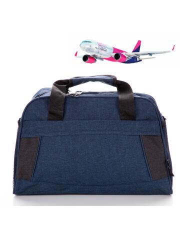 Bellugio Utazótáska Wizzair méretű fedélzeti táska GR-9055 Kék méret 40 x 30 x 20 cm*