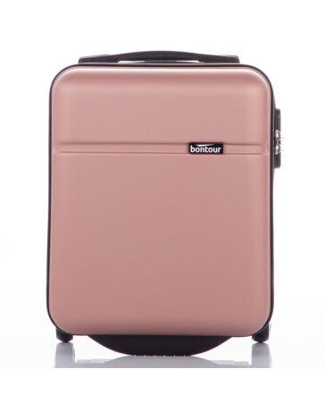 Bontour Bőrönd kabin méret Rosegold színben WIZZAIR járataira ingyenesen felvihető   (40 x 30 x 20 cm)