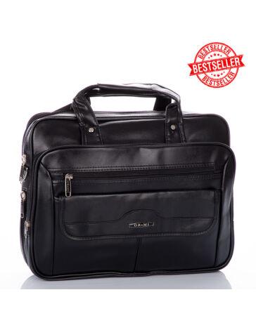 3 részes üzleti táska fekete színben