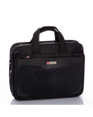 Fekete üzleti táska laptoptartóval 3181