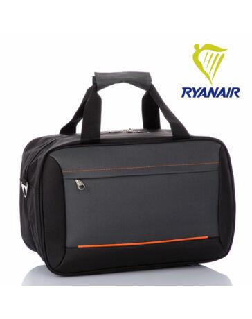 Fedélzeti táska 40 x 25 x 20 cm Ryanair méret szürke színben