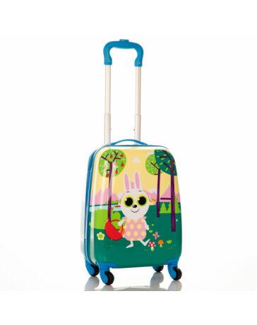 Nyuszis gyermekbőrönd