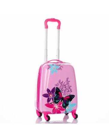 Pillangós gyermekbőrönd