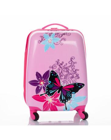 Pillangós gyermekbőrönd AKCIÓS