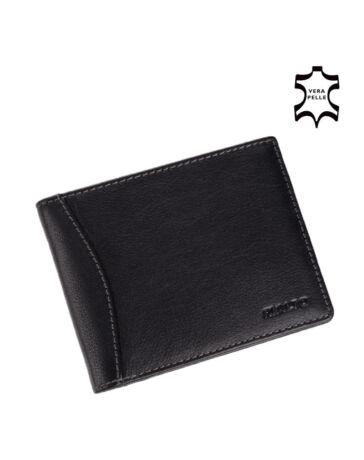 Rialto valódi bőr férfi pénztárca díszdobozban fekete színben RP6393/Q-03