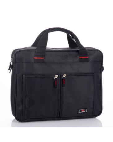 Fekete üzleti táska laptoptartóval 2139
