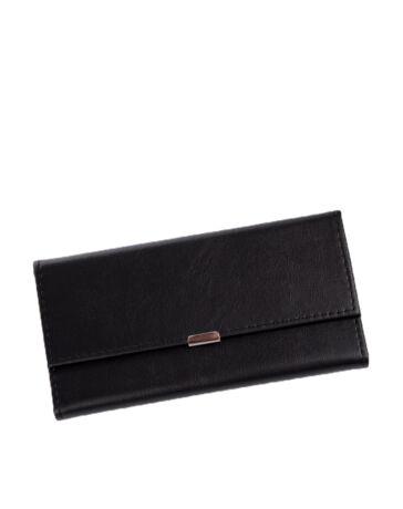 Pincér pénztárca fekete színben