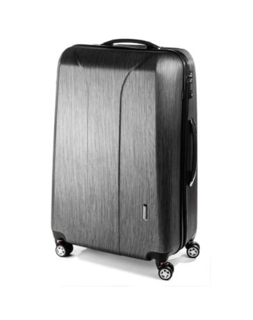 Yearz New Carat L-es black brushed bőrönd