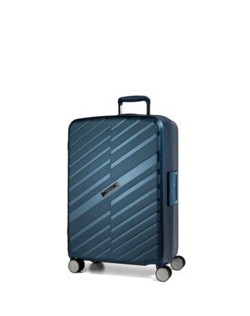 Bon Voyage Törhetelen Cipzár nélküli Spinner kabinbőrönd