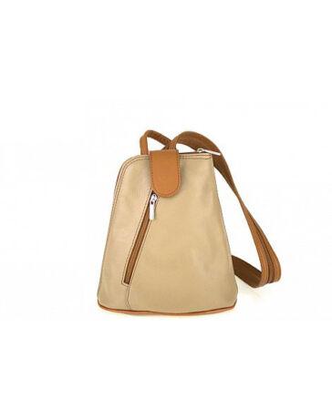 Valódi bőr hátizsák RYANAIR méretű kistáska belefér a 40 x 20 x 25 cm es  méretbe.  fa1820f8a6