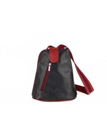 Valódi bőr hátizsák RYANAIR méretű kistáska belefér a 40 x 20 x 25 cm es  méretbe 61817fc072