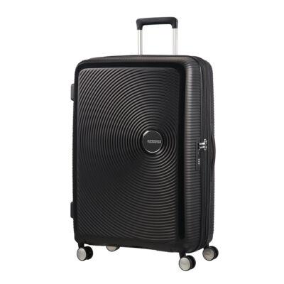American Tourister Soundbox bővíthető Spinner bőrönd 77*